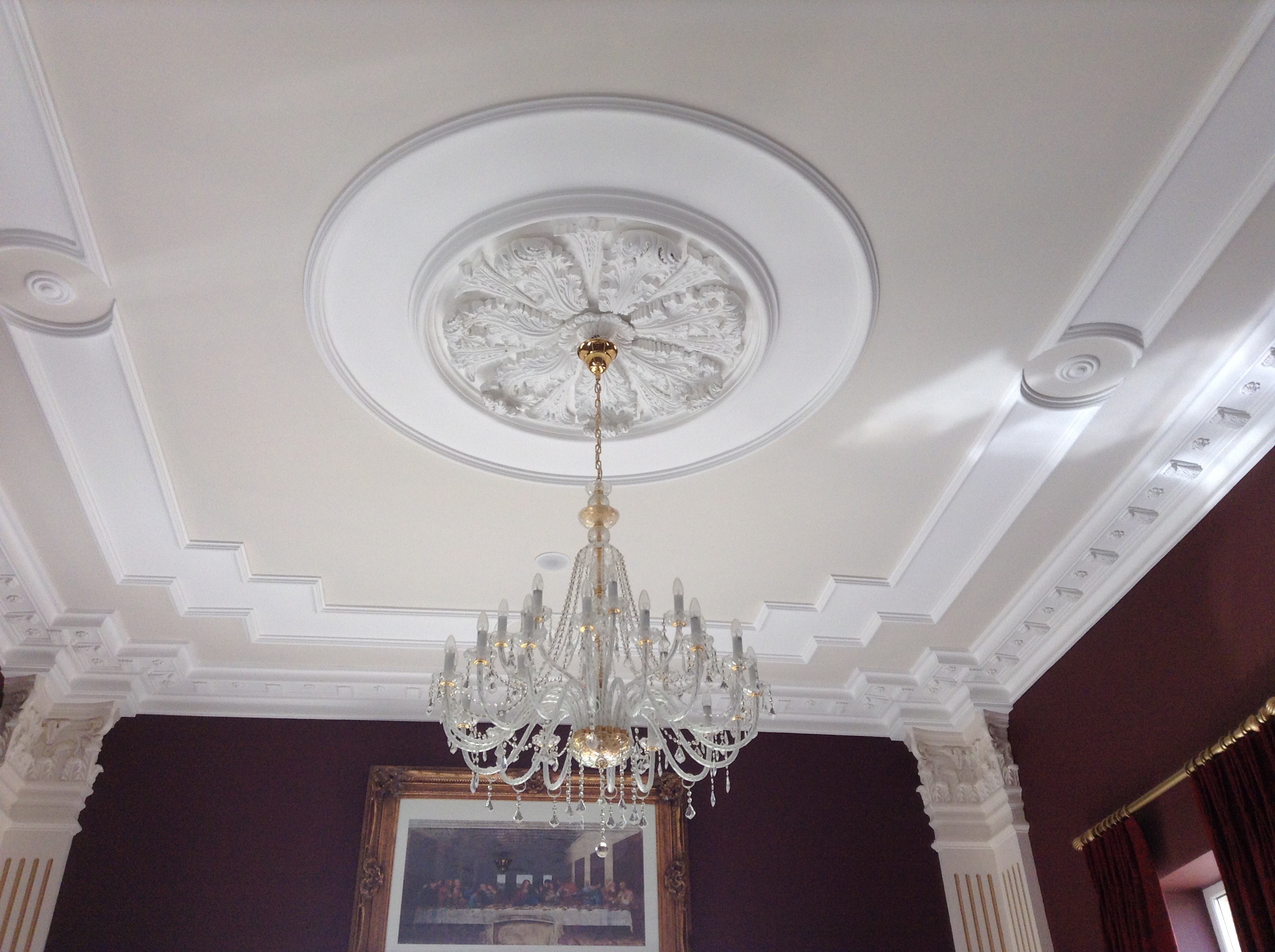 Plaster ceiling light surround ceiling designs molloy plaster mouldings cornice suppliers manufacturers tullamore aloadofball Images